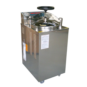 上海博迅YXQ-LS-100G立式压力蒸汽灭菌器